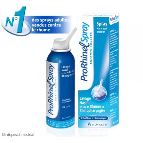 PRORHINEL Spray enfants adultes lavage nasal 100ml