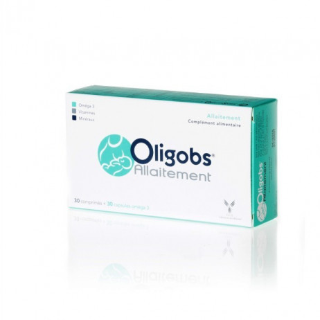 OLIGOBS Allaitement 30 capsules + 30 comprimés