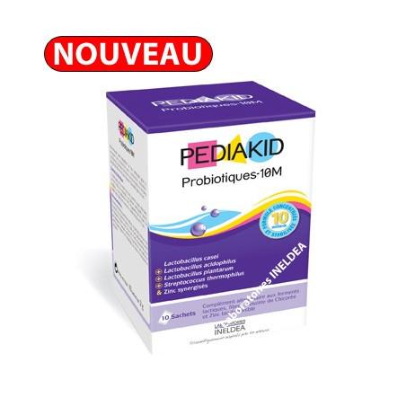 PEDIAKID Probiotiques - 5M x10 sachets