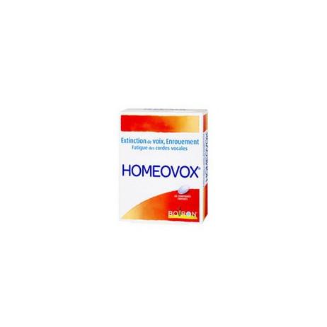 BOIRON Homeovox x60 comprimés enrobés