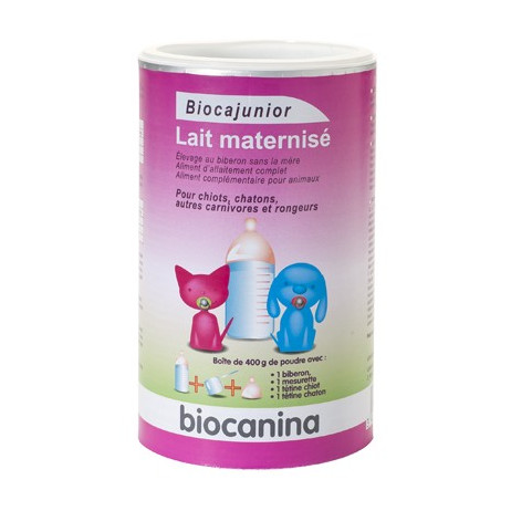 BIOCANINA Biocajunior lait maternisé 400g