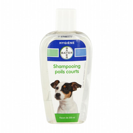 BAYER Shampooing poils courts 200ml