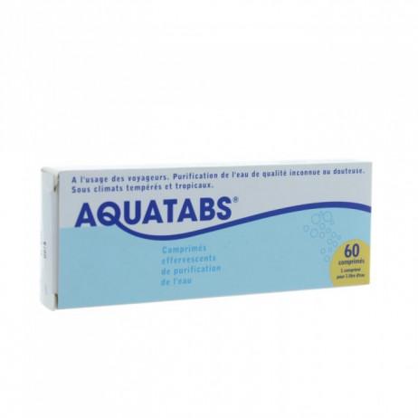 AQUATABS comprimés effervescents de désinfection de l'eau