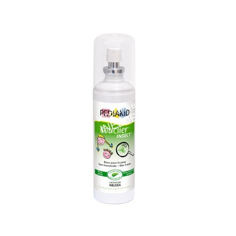 PEDIAKID Bouclier insect' spray à action répulsive 100ml