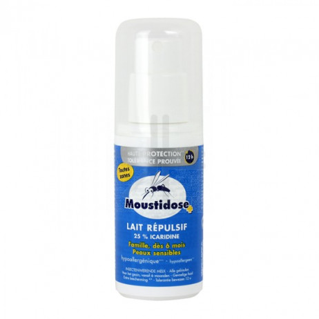 MOUSTIDOSE Lait répulsif spray