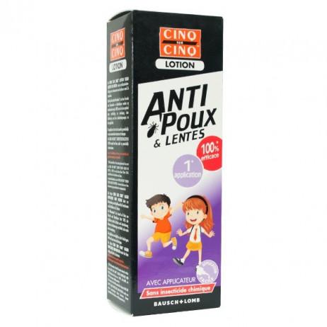 CINQ SUR CINQ Lotion anti-poux et lentes 100ml