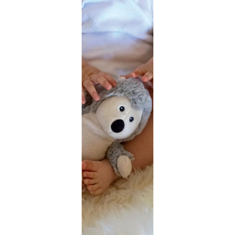 SOFRAMAR Warmies Cozy plush junior bouillotte peluche bébé
