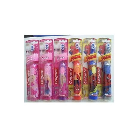 COLGATE brosse à dents électrique à piles enfants