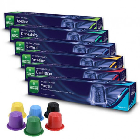 MEDIFLOR Infusion capsules x7