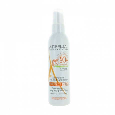 A-DERMA Spray enfant SPF50+ 200ml