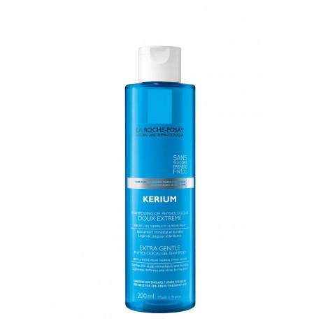 LA ROCHE-POSAY kerium doux shampooing gel 400ml
