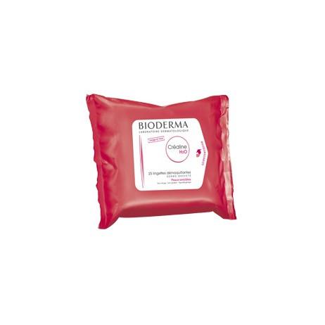 BIODERMA Créaline H2O lingettes démaquillantes x25