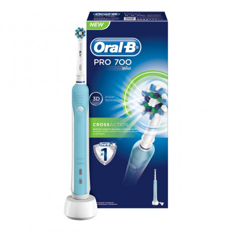 ORAL B Pro 700 crossaction 3D brosse à dents électrique