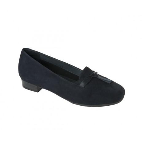 SCHOLL New leda chaussures femme bleu marine
