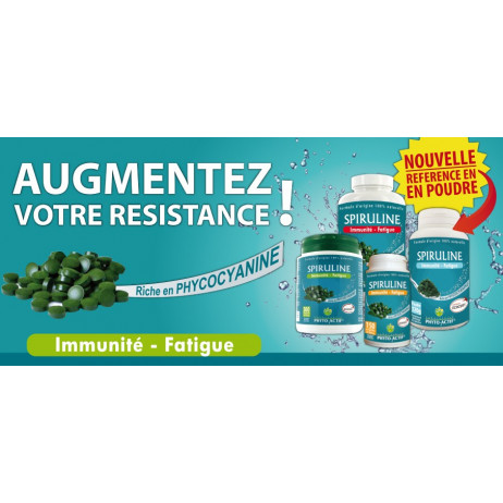 SPIRULINE Immunité / Fatigue