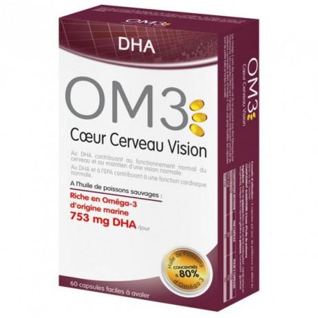 OM3 coeur cerveau vision x60 capsules