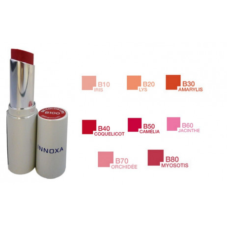 INNOXA BB color lips rouge à lèvres soin coquelicot