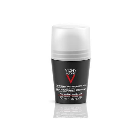 VICHY HOMME Déodorant bille anti-tranpirant 72h 50ml