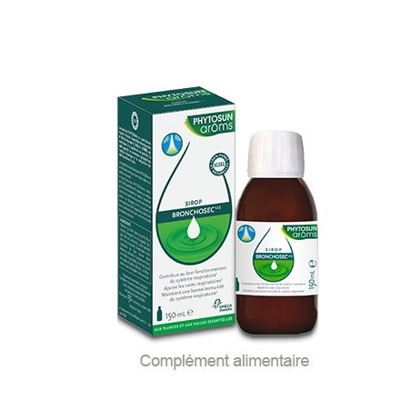 PHYTOSUN AROMS Sirop bronchosec 1,2,3 150ml