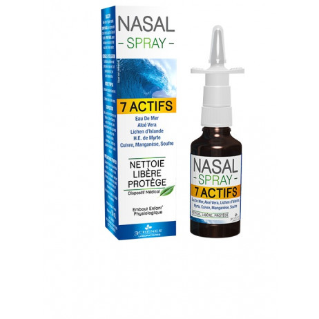 LES 3 CHENES Nasal spray 7 actifs 50ml