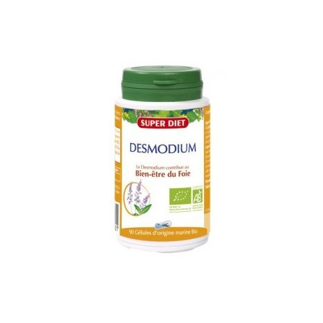 SUPERDIET Desmodium bine-être du foie 90 gélules