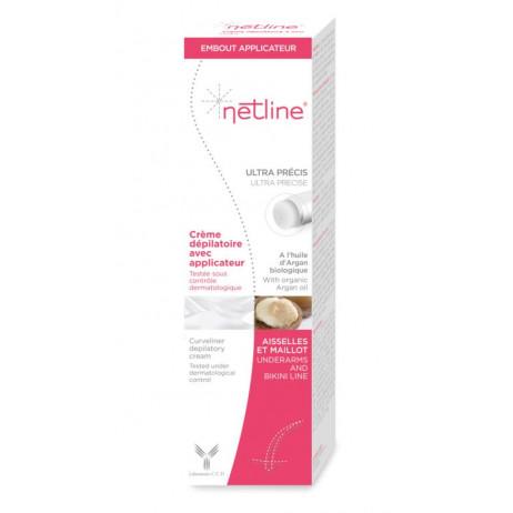 NETLINE Crème dépilatoire avec applicateur 100ml