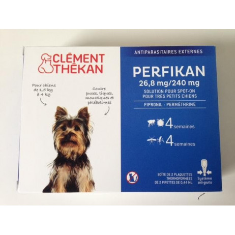 CLEMENT THEKAN Perfikan 4 pipettes