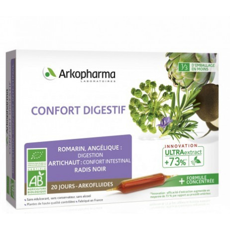 ARKOPHARMA Confort digestif ampoules 20X10ml