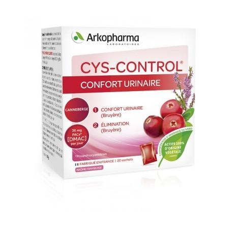ARKOPHARMA Cys control confort urinaire x20 sachets