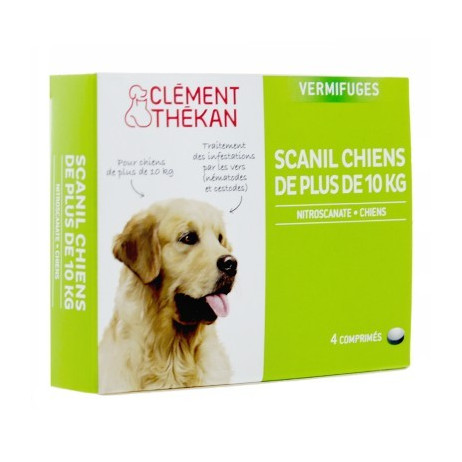 CLEMENT THEKAN Scanil vermifuge chien