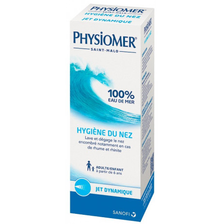 PHYSIOMER hygiène du nez jet dynamique 135ml