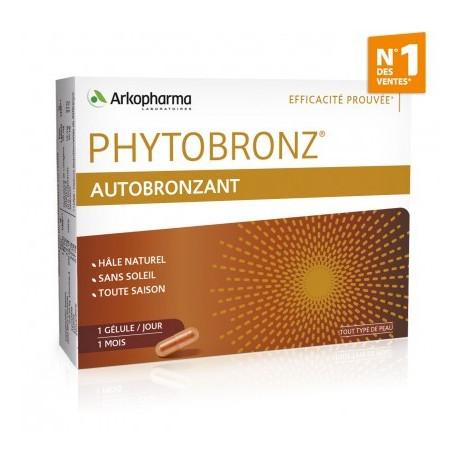 ARKOPHARMA Phytobronz autobronzant x30 gélules